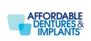 Affordable Dentures & Implants / Affordable Care Logo