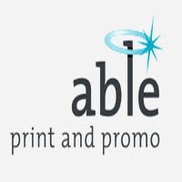 Able print and promo Logo