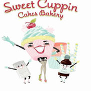 Sweet Cuppin Cakes Bakery Logo