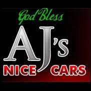 AJ's Nice Cars Logo