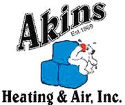 Akins Heating & Air Conditioning Inc Logo