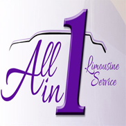 All In One Limousine Service Logo