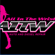 All In The Wrist Auto and Diesel Repair Logo