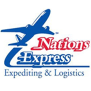 ALL NATION EXPRESS COURIER Logo