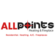 All Points Heating & Fireplace Logo