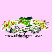 ALL THE RAGE TATTOOS AND PIERCING Logo