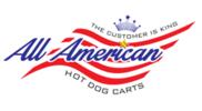 All American Hot Dog Carts Logo