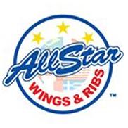 AllStar Wings & Ribs Logo