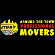 Around The Town Professional Movers Logo