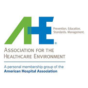 Association for the Healthcare Environment (AHE) Logo
