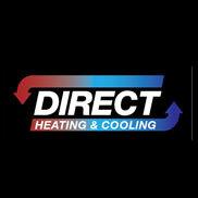 Direct Heating & Cooling Logo