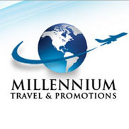 Millennium Travel and Promotions, Inc. Logo