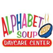 Alphabet Soup Day Care Center Logo