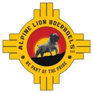 Alpine Lion Boerboels Logo