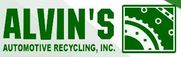 Alvin's Automotive Recyling Logo