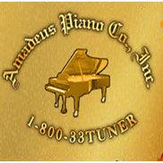 Amadeus Piano Company Logo