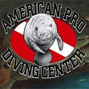 American Pro Diving Center Logo