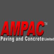 AMPAC Paving & Concrete Logo