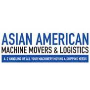 Asian American Machine Movers & Logistics Logo