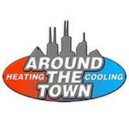 Around the Town Heating & Cooling Logo