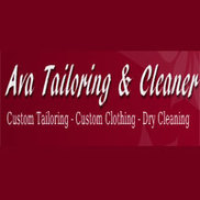 Ava Custom Tailoring & Dry Cleaning Logo