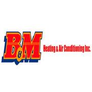 B&M Heating & Air Condititiong Logo