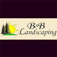 B & B Landscaping Logo