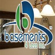 Basements 4 Less Inc. Logo