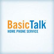 Basic Talk Phone Service Logo