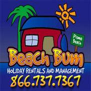 Beach Bum Holiday Rentals Logo