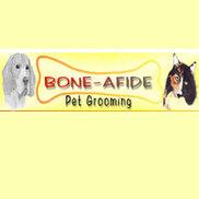 Bone-Afide Pet Grooming Logo