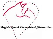 Buffalo Paws and Claws Animal Shelter Logo