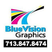 Blue Vision Graphics Logo