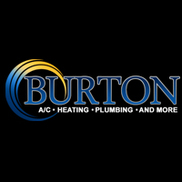 Burton Plumbing Heating and Air Logo