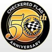 Checkered Flag Motor Car Corporation Logo