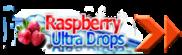 Raspberry Ultra Drops Logo
