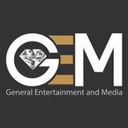 Gems TV / General Entertainment and Media Logo