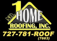 No. 1 Home Roofing Logo