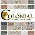 Colonial Marble & Granite Logo