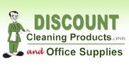 Discount Cleaning Products Logo