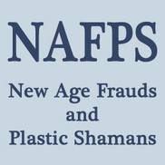 New Age Frauds and Plastic Shamans (NAFPS) Logo