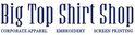 Big Top Shirt Shop Logo