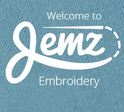 Jemz Embroidery Logo