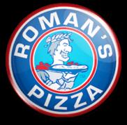 Roman's Pizza Logo
