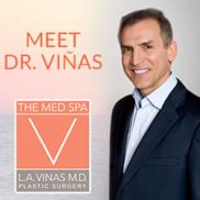 L.A. Vinas M.D. Logo