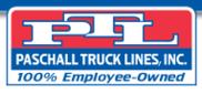Paschall Truck Lines Logo