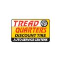 Tread Quarters Discount Tire Auto Service Centers Logo