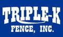Triple-K Fence Logo