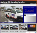 Gainesville Towing Service Logo