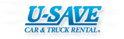 U-Save Car & Truck Rental / U-Save Auto Rental of America Logo